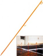 ロープスティック(2段)1500mm 単品【700円】 (ロープピン)(rst1500)