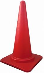カラーコーン 赤 H700mm 単品(s700r)