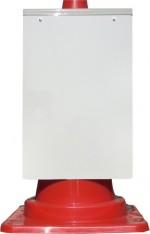 コーン看板 白無地 無反射 ホワイトボードタイプもあります(csn0)