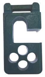 【送料無料】2台セット ガードフェンスバリケード兼用ブロック(鋳物)【@2500円】(FB3)
