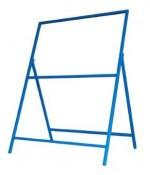 看板用鉄枠 1100×1400鉄板用 青色 25角(TT1)